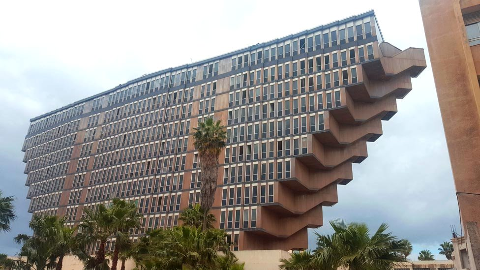 The mystery of Star Wars and Tunisia's rundown Brutalist hotel
