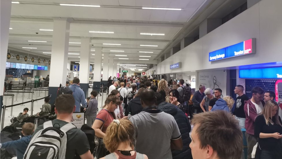 Manchester Airport: Flights cancelled and delayed after fuel problem