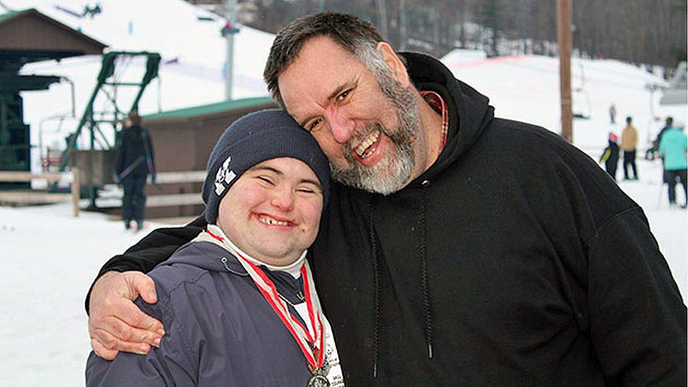 John y su padre Mark