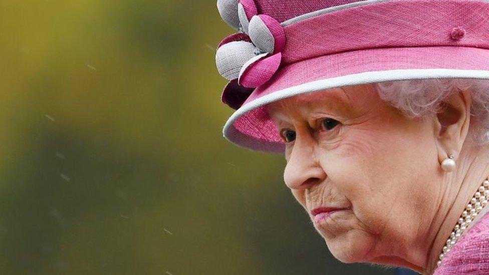 Isabel II en una foto del 19 de octubre de 2017