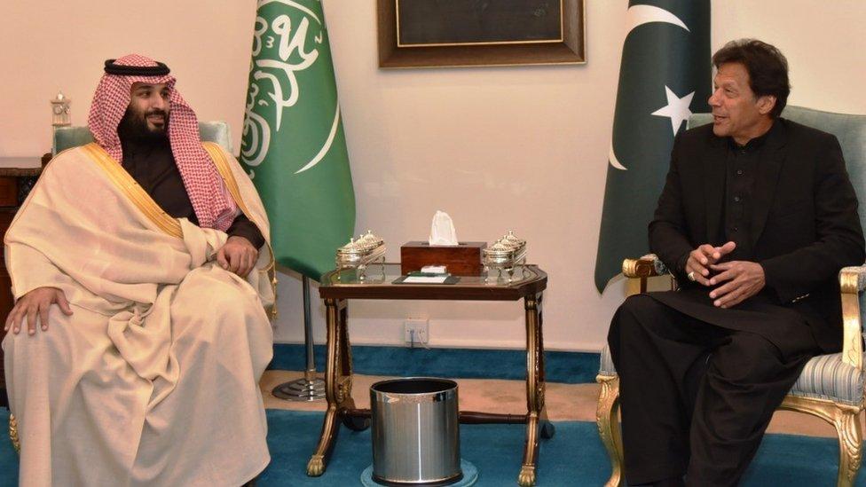 Saudi Arabia signs $20bn in deals with Pakistan