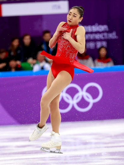 La estadounidense empezó a patinar a los cinco años de edad.