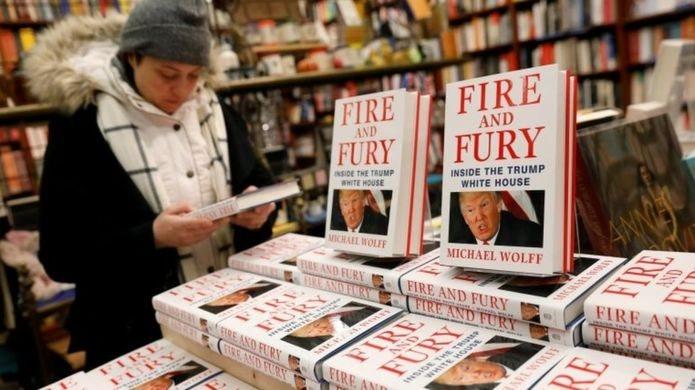 """كتاب """"النار والغضب: داخل بيت ترامب الأبيض"""""""