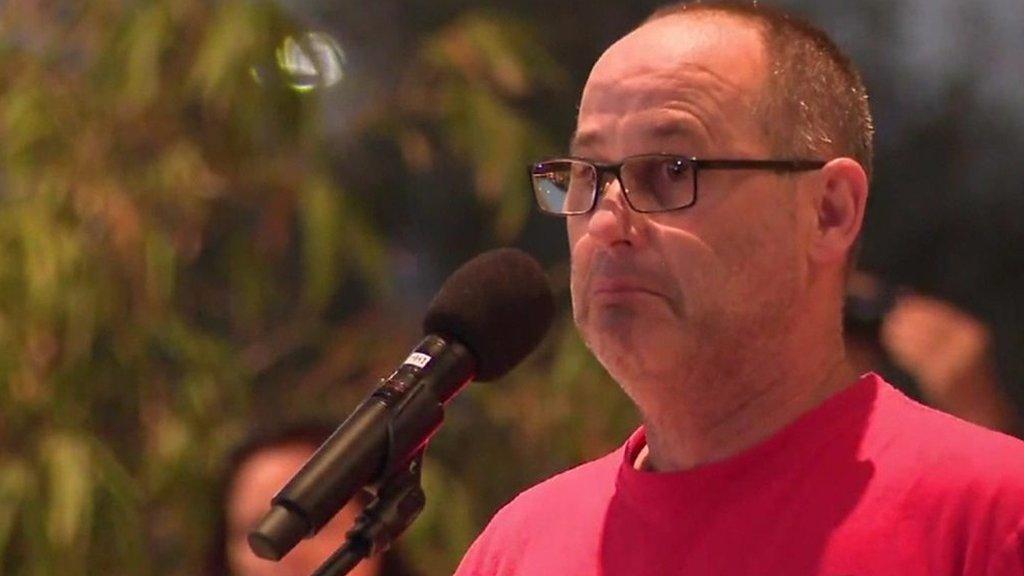Florida school shooting: Thousands mourn at vigil