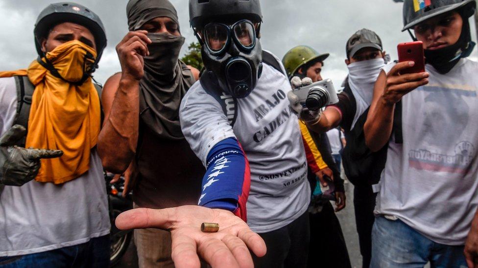 La fiscal ha denunciado el abuso de la fuerza militar y policiaca en las protestas antigubernamentales.