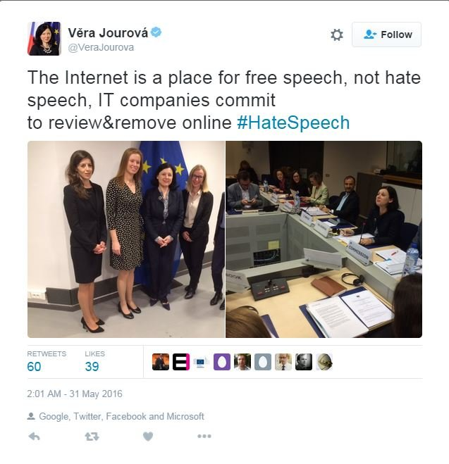 EC panel discussing hate speech