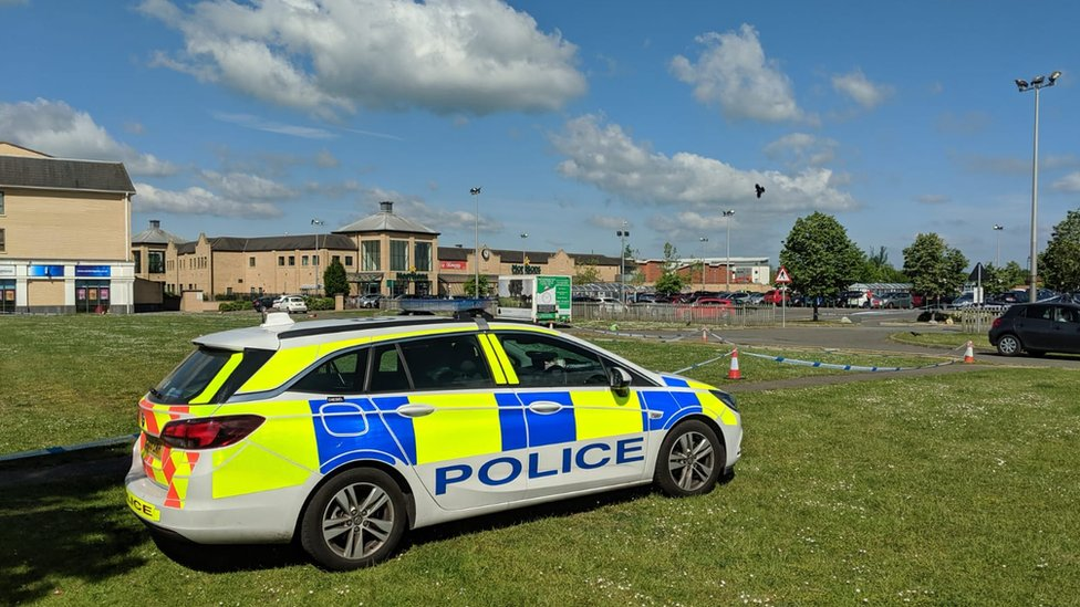 Boy, 15, arrested over street stabbing in Cambourne