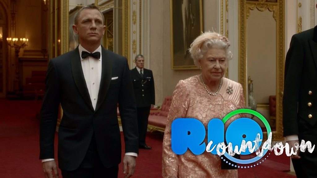 Rio 2016: James Bond and the Queens arrival at London 2012