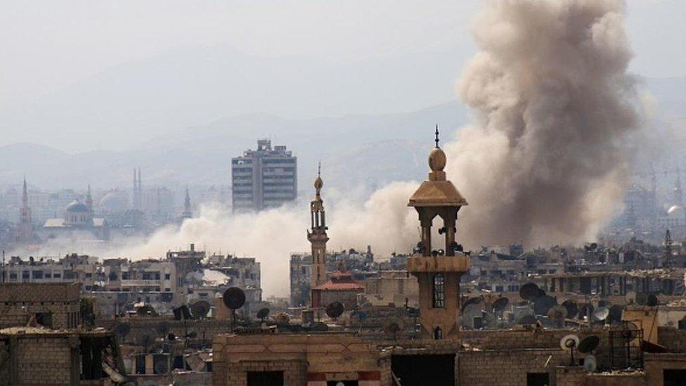 د سوریي پوځ: پر دمشق مو د وسله والو برید مهار کړ