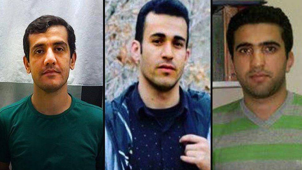 ایران کې درې کرد بندیان اعدام شول