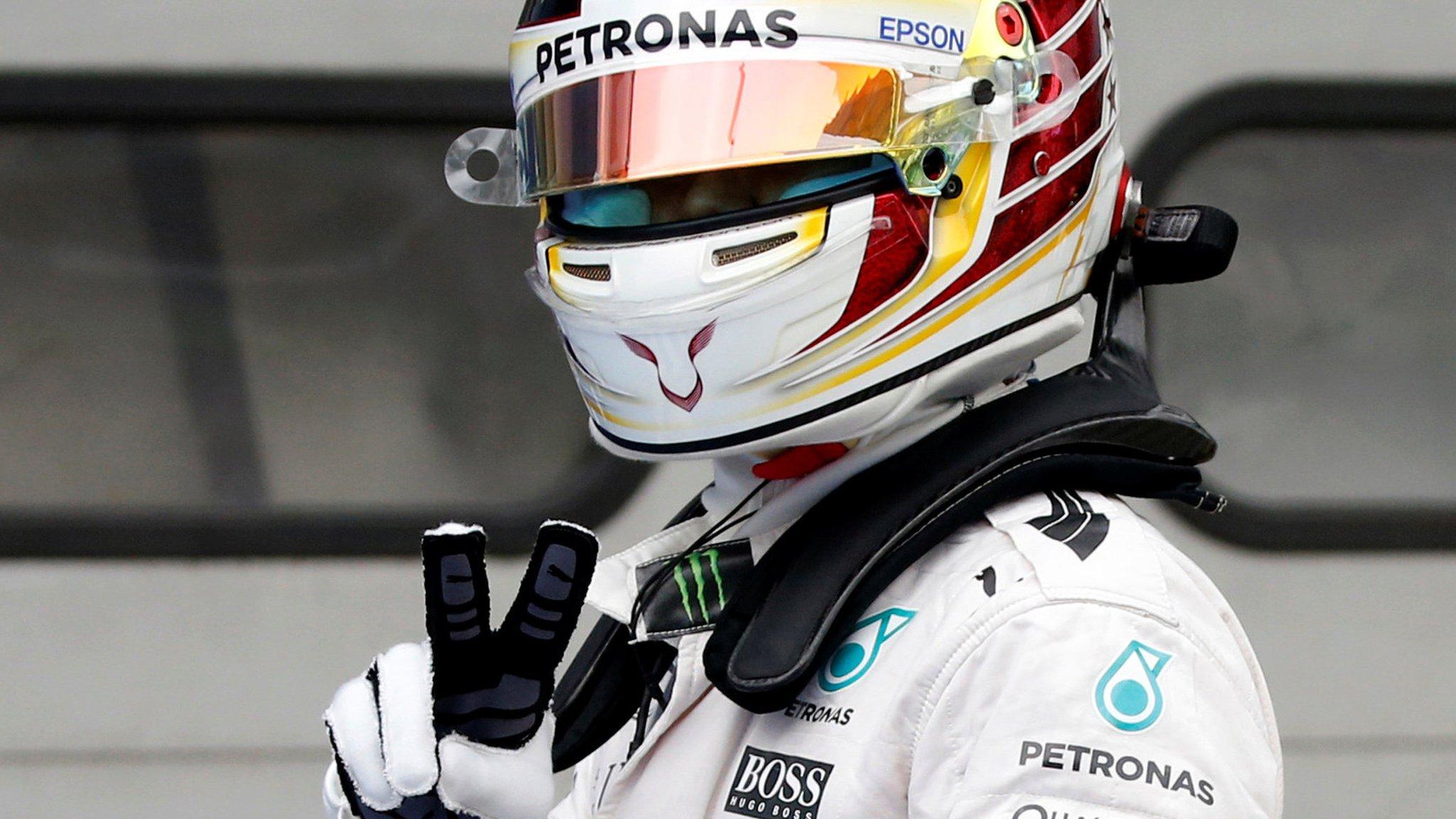 Hamilton takes dominant Malaysia pole ahead of Rosberg