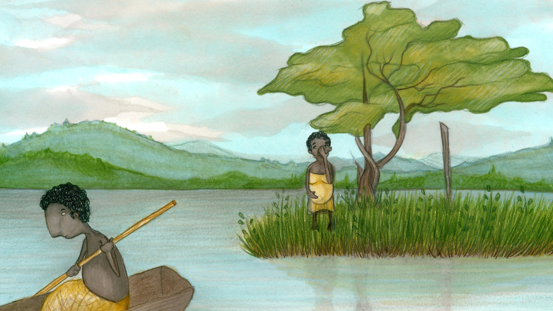 Uganda's Punishment Island: 'I was left to die on an island for getting pregnant'