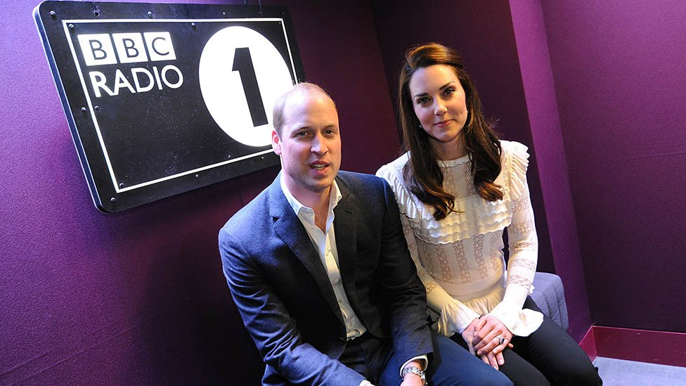Duke and Duchess surprise Radio 1 DJ as part of mental health campaign