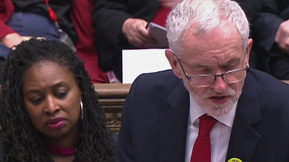 PMQs: Corbyn and May on Brexit and car industry