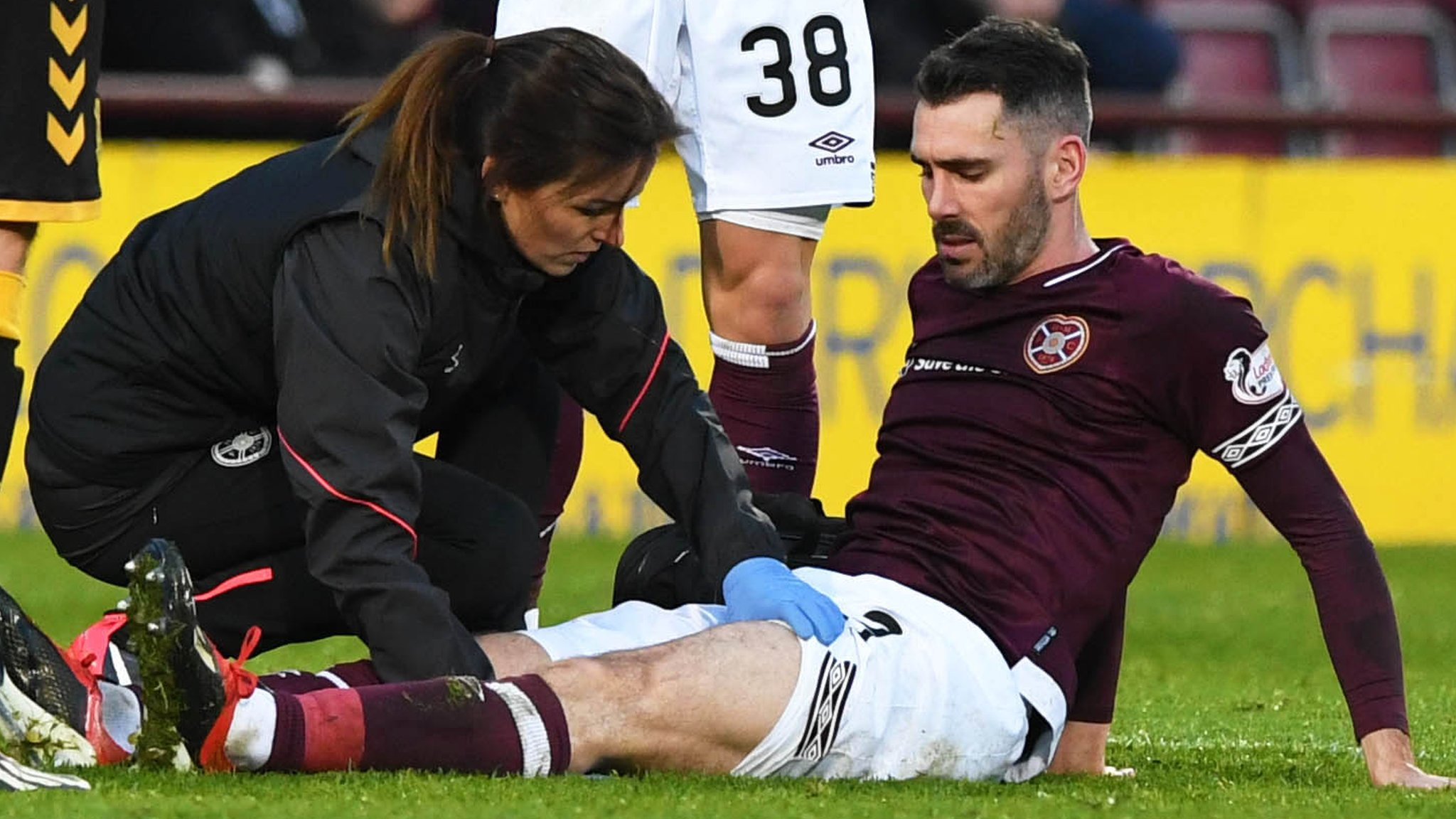 Hearts: Defender Michael Smith sidelined for 'between six and 12 weeks' - Levein