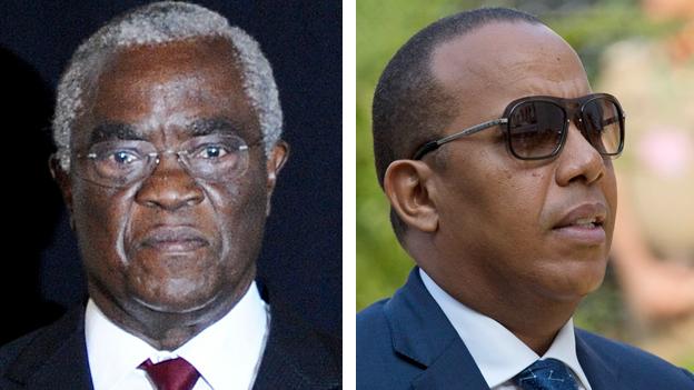 Sao Tome's leaders