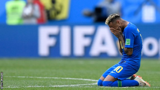 World Cup 2018: Neymar sparks debate with dives, flicks and tears