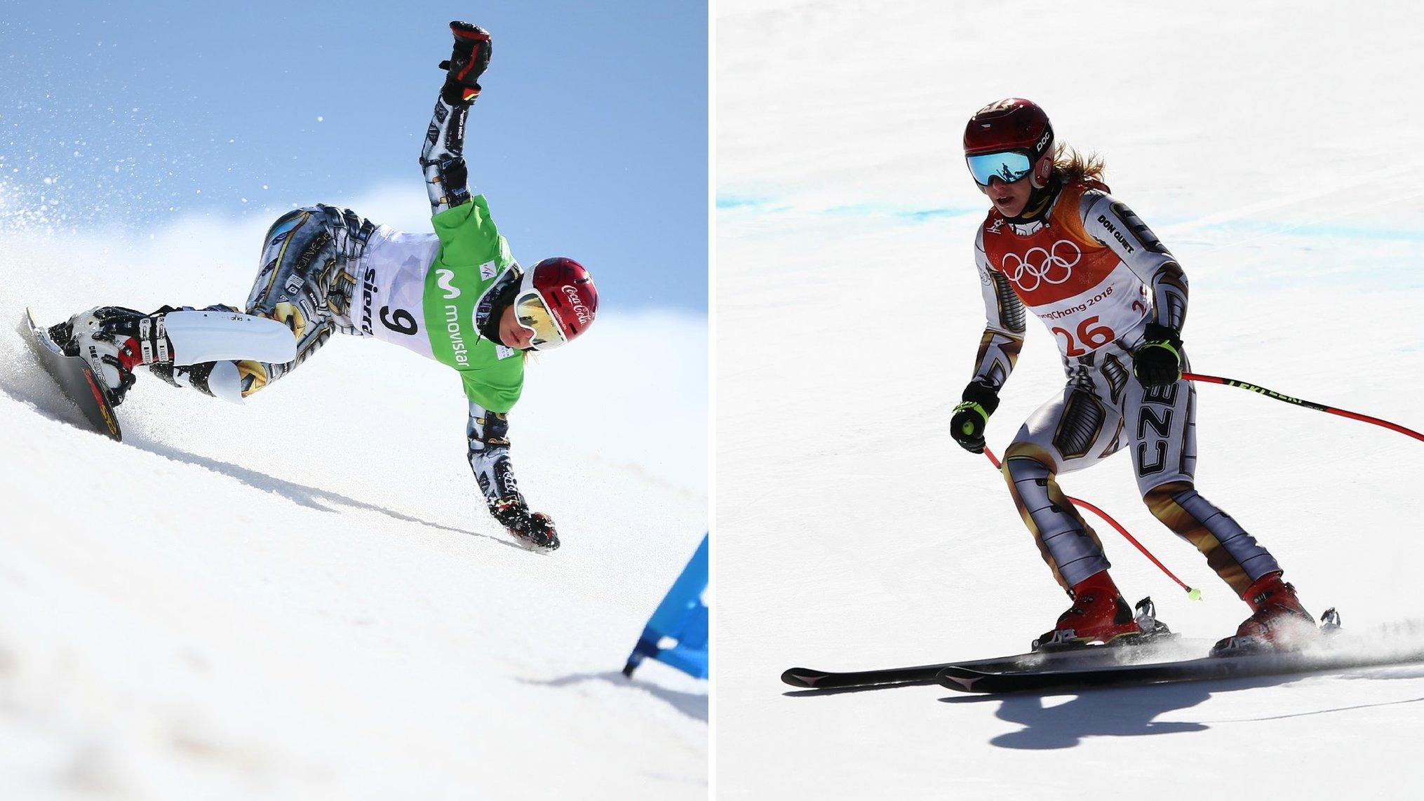 Winter Olympics: Ester Ledecka - the snowboarder who won gold on borrowed skis