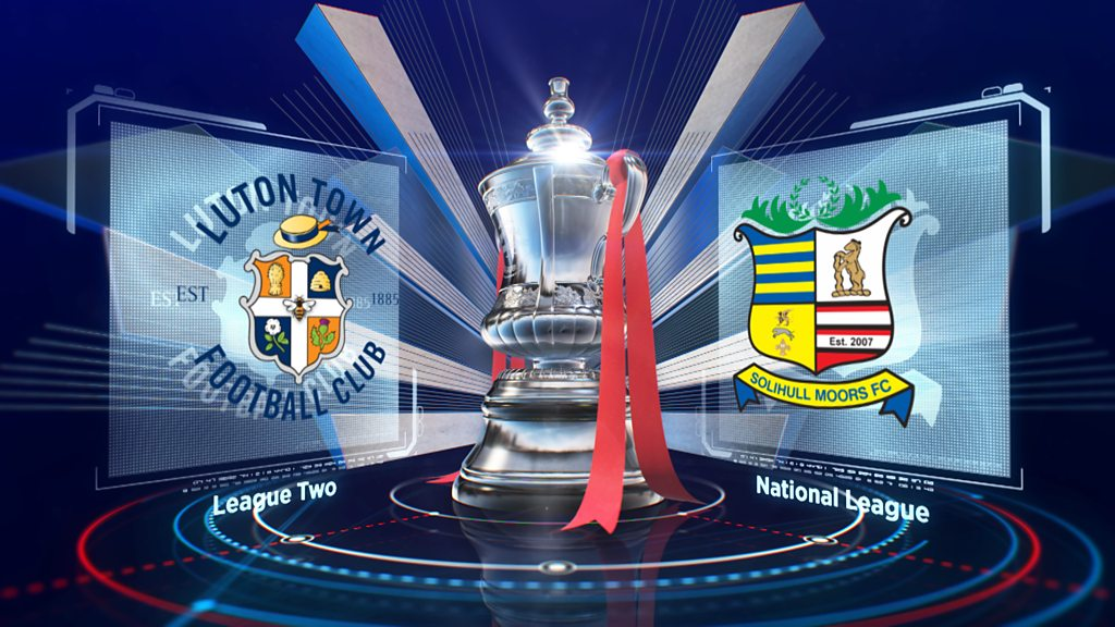 FA Cup: Luton Town 6-2 Solihull Moors highlights