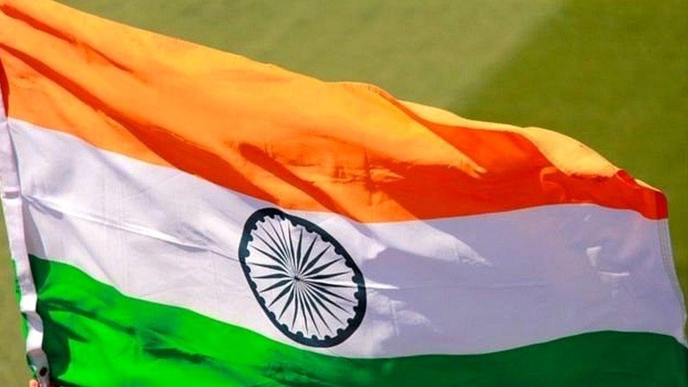 انڈین پرچم