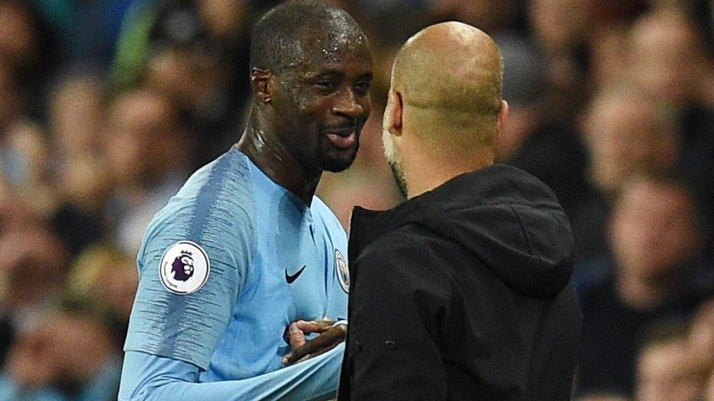 Yaya Toure: It's goodbye to Man City, but not to football