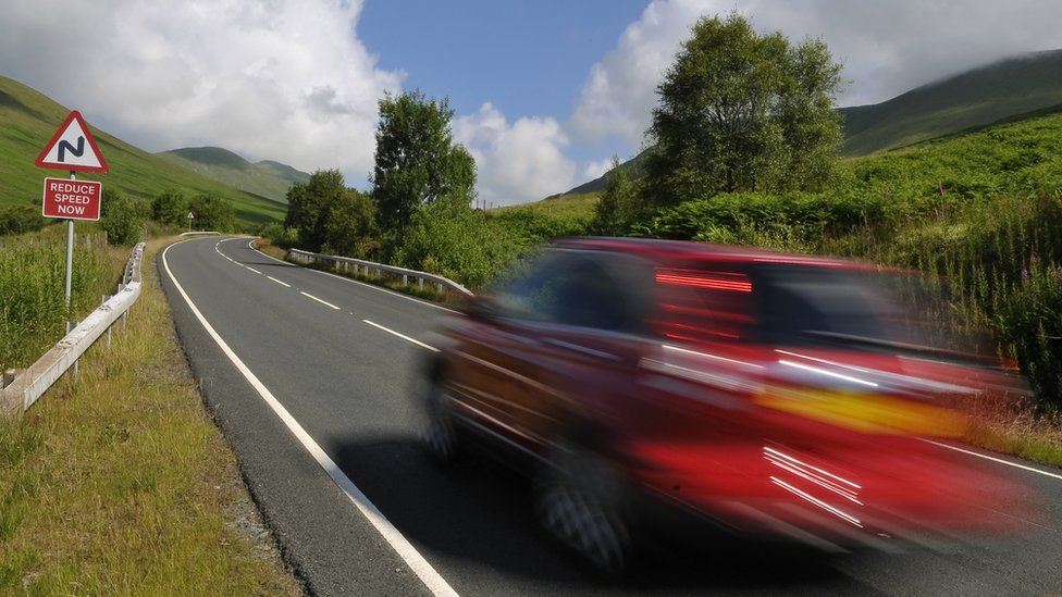 Stricter punishments for speeding offences in England and Wales