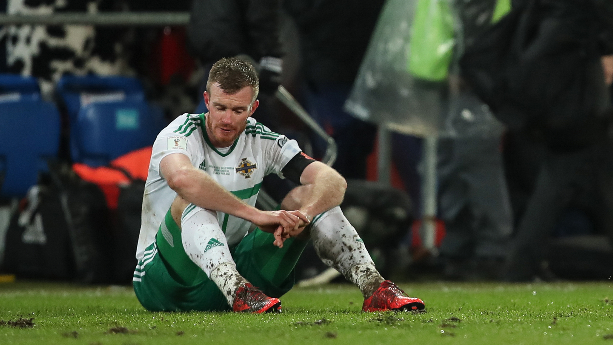 Northern Ireland's Chris Brunt is weighing up his international future