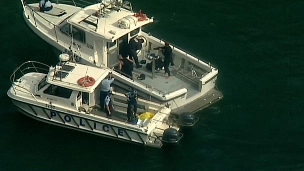 seaplane crash Sydney