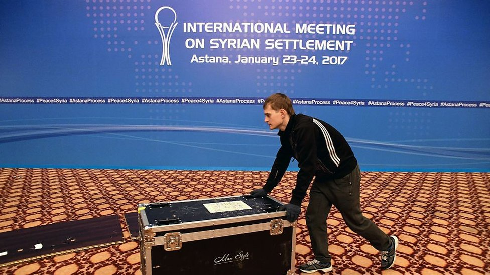 В Астане обсуждают мирное урегулирование в Сирии