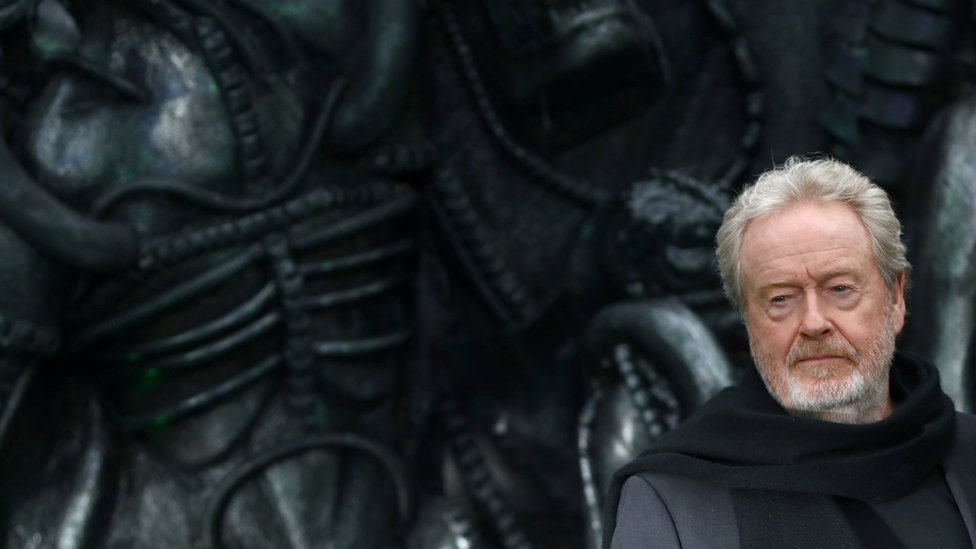 Ridley Scott, director de cine