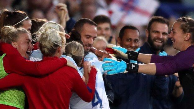 England women 6-0 Russia women