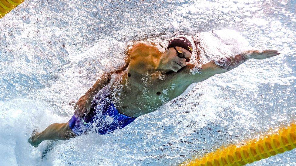 Fue reconocido como el nadador más destacado de los mundiales de Budapest.