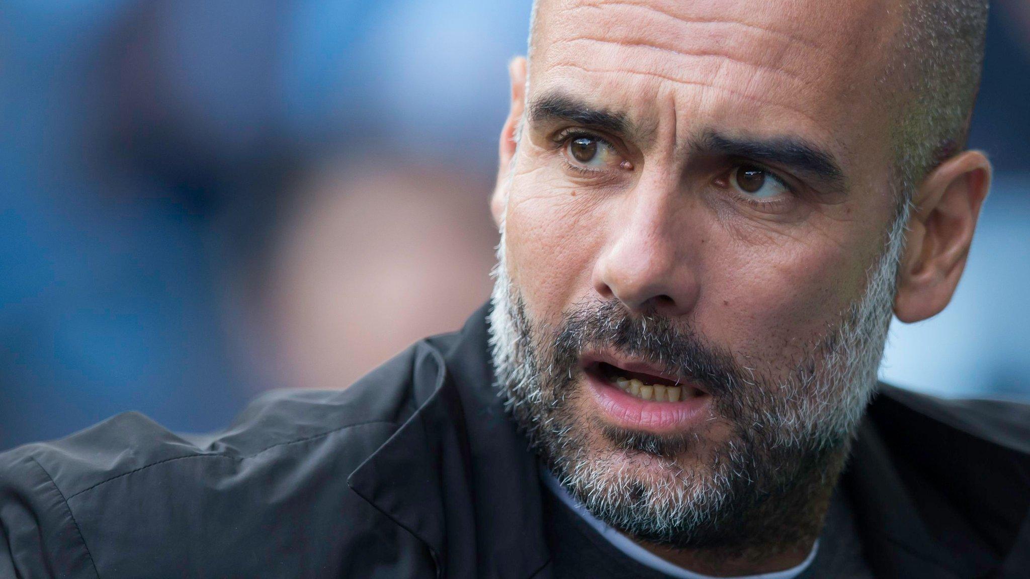 Man City don't feel ready to win Champions League - Guardiola