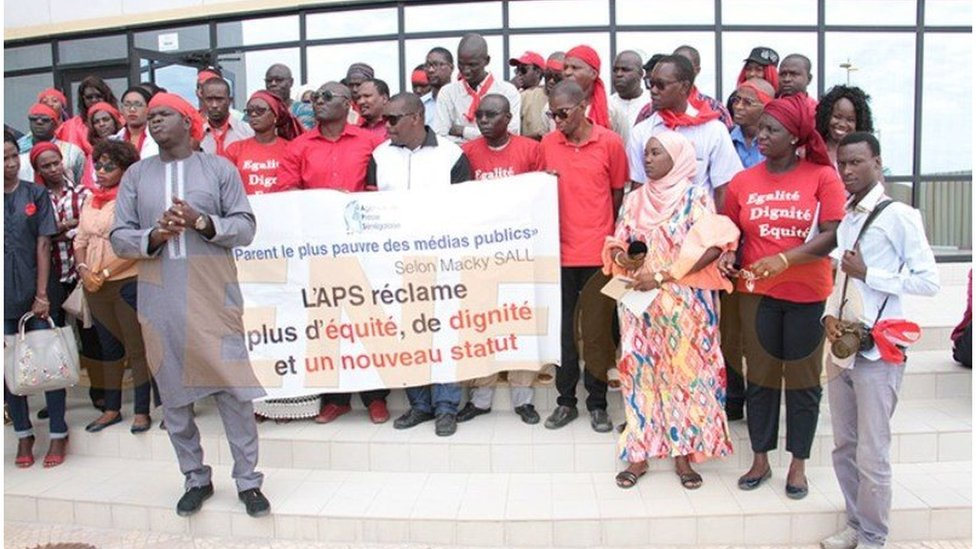 Les médias sénégalais au chevet de l'APS