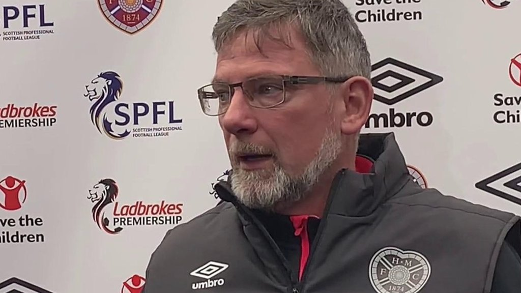 Craig Levein: Hearts manager says VAR is the answer