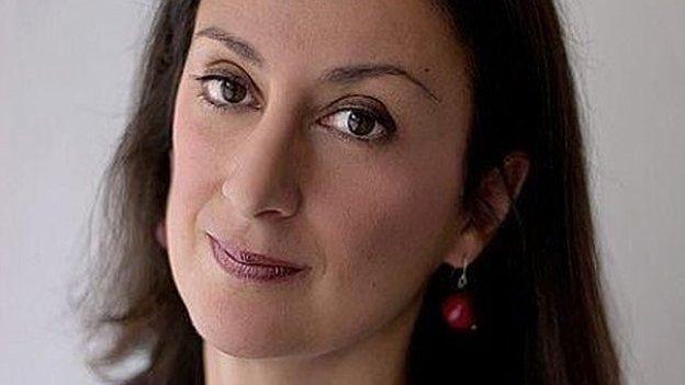 Malta blogger Daphne Caruana Galizia dies in car bomb attack