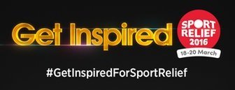 Get Inspired for Sport Relief Logo
