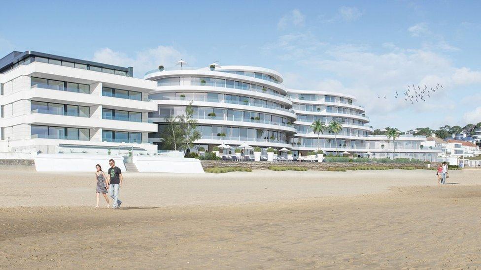 Sandbanks hotels in £250m redevelopment bid