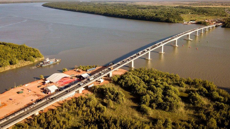 Le pont de la relance économique Sénégambie ouvert