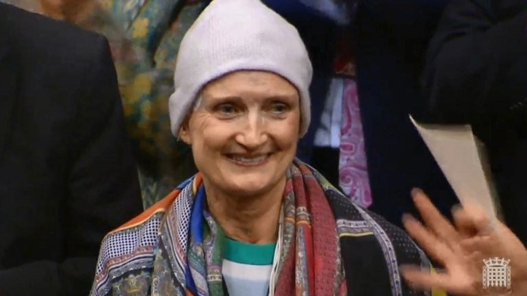 Dame Tessa Jowell was 'brave' and 'inspirational'
