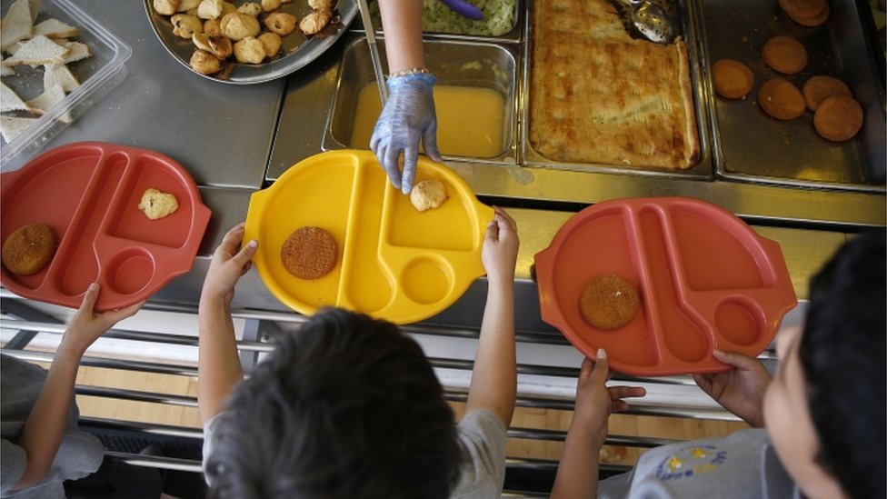 Birkenhead school's meal threat angers parents