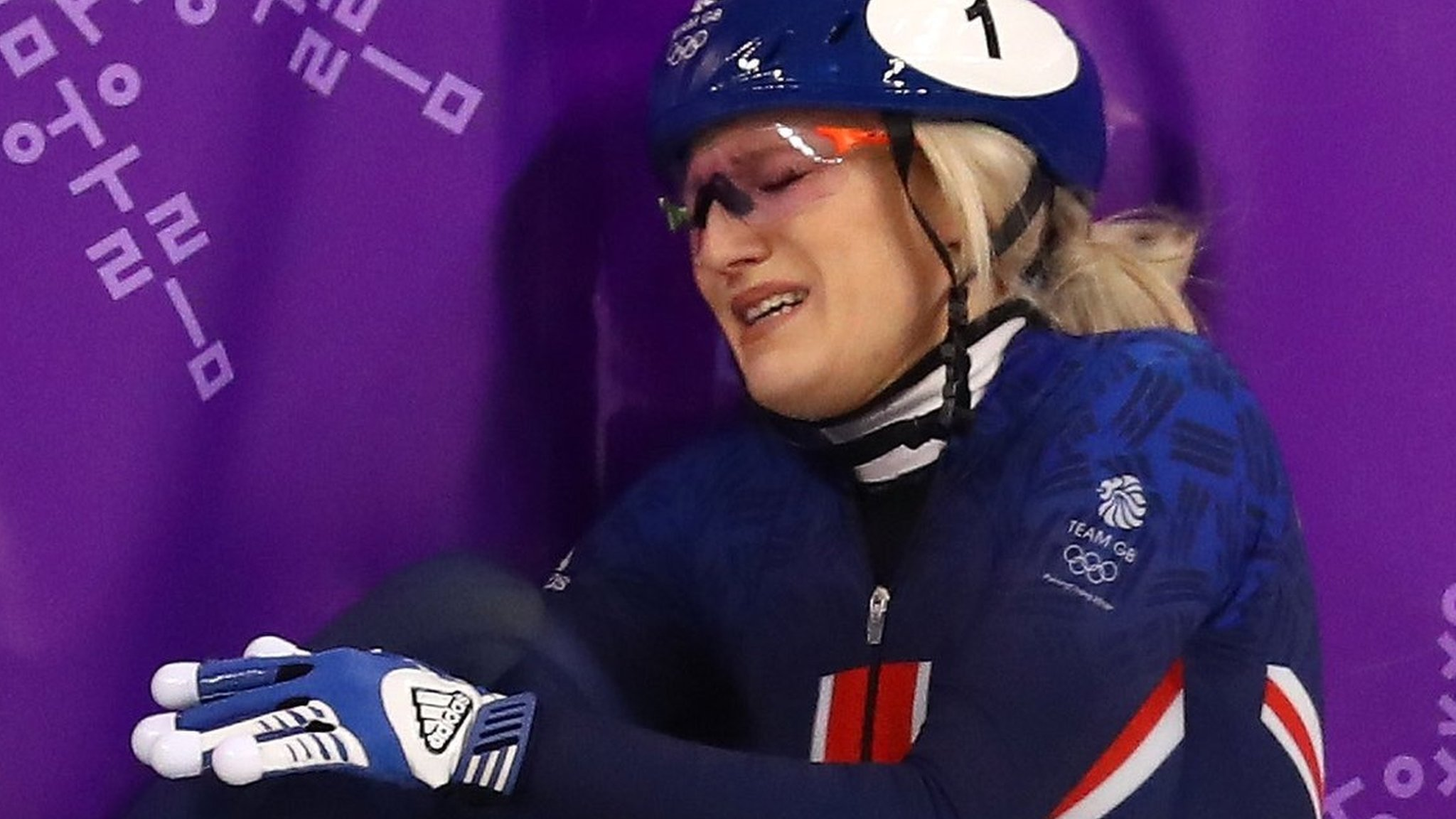 Winter Olympics: Why Elise Christie tugs at nation's heartstrings
