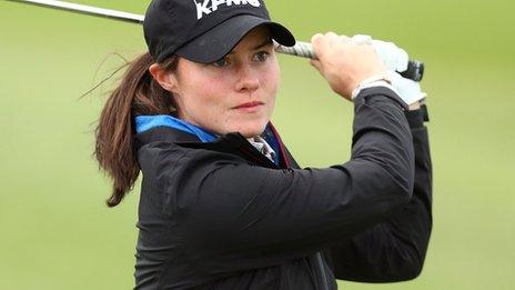 Leona Maguire: Irish golfer prepares for professional debut