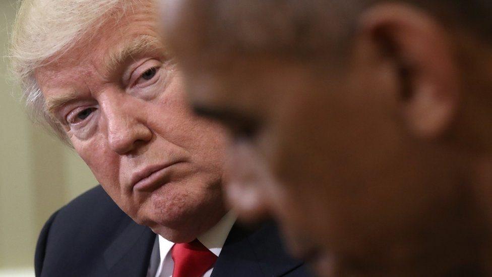 Trump cáo buộc Obama 'không làm gì' vụ Nga can thiệp