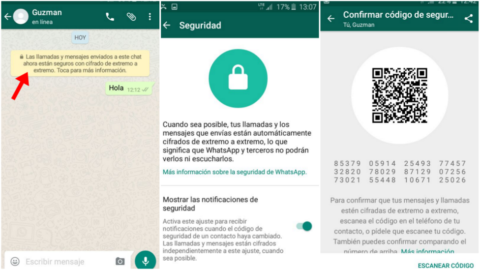 Los mensajes y llamadas entre contactos de WhatsApp están cifrados de extremo a extremo. (Foto: WhatsApp)