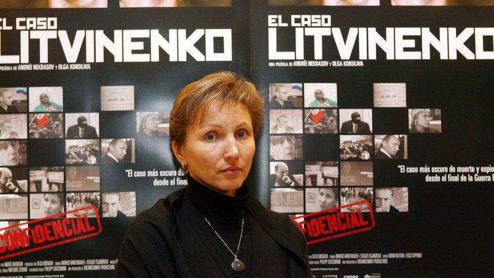 Viuda de Litvinenko.