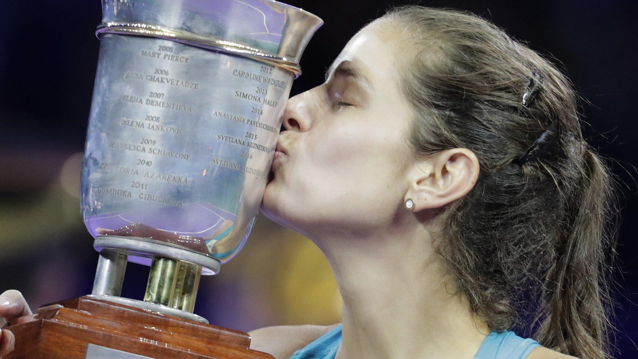 Kremlin Cup: Julia Goerges beats Daria Kasatkina to claim third WTA title