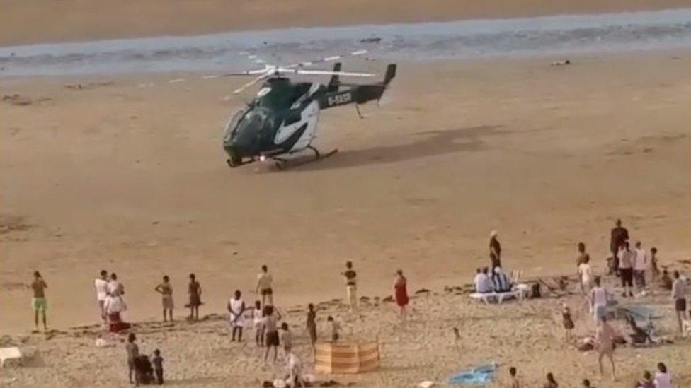 Boy injured in Margate beach brawl