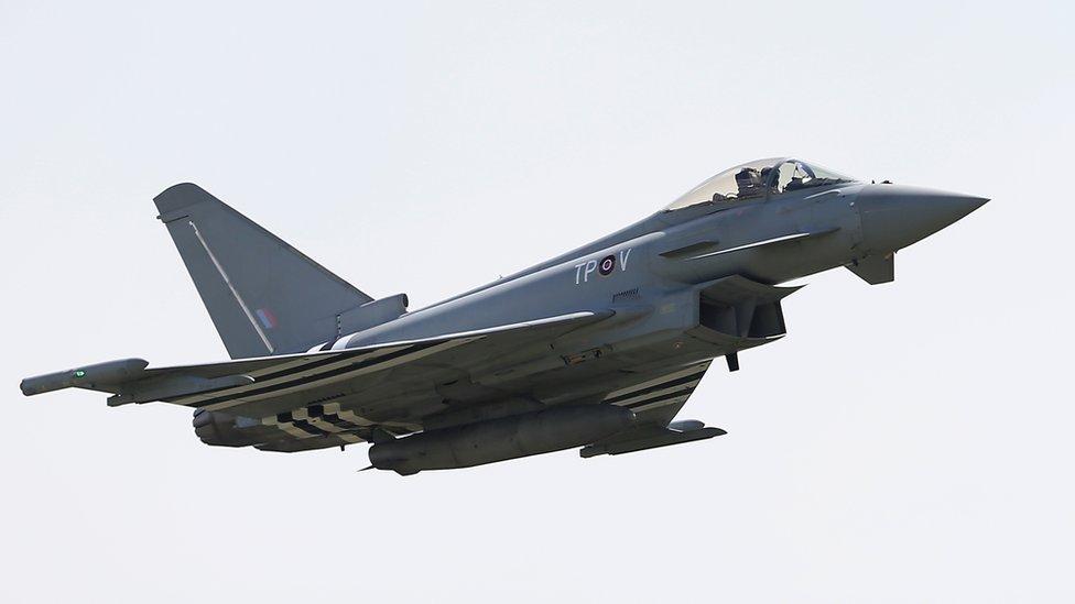 Saudi Arabia nears Typhoon jet deal with BAE