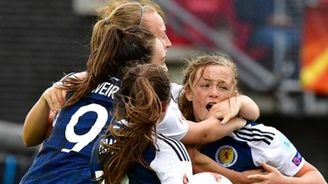 Cuthbert backs beaten Scotland to qualify - reaction & highlights